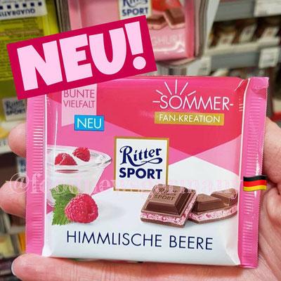 Ritter Sport Sommer Fan Edition Himmlische Beere