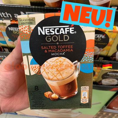 Nescafe Gold Salted Toffee & Macadamia Mocha