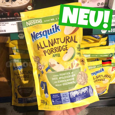 Nesquik All Natural Porrdige