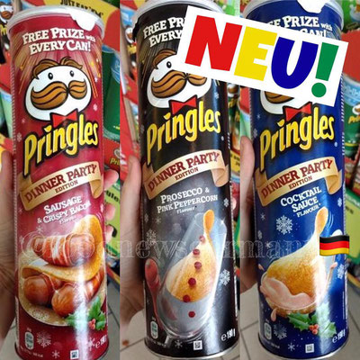 FUNNY FRISCH PRINGLES DINNER PARTY