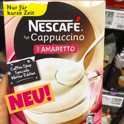 Nescafe Cappuccino Amaretto