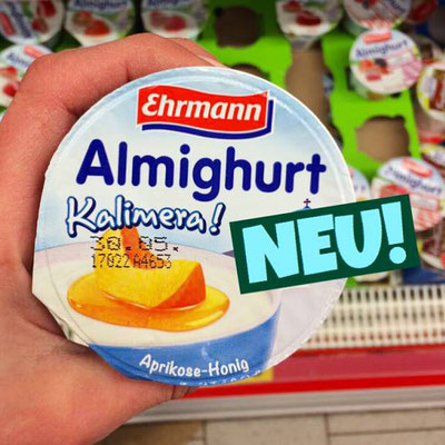 Ehrmann Almighurt Kalimera Aprikose Honig