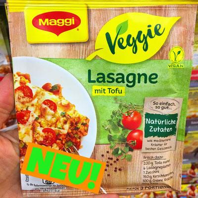 Maggi Veggie Lasagne mit Tofu