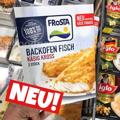 Frosta Backofen Fisch Käsig Kross