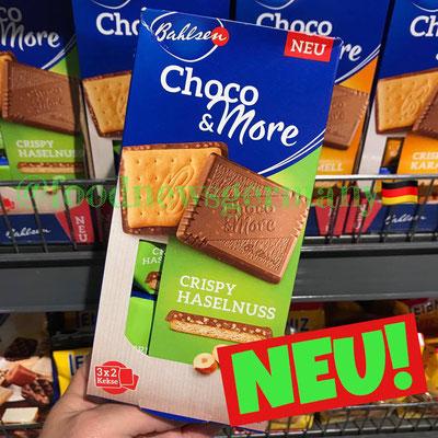 Bahlsen Choco & MOre Crispy Haselnuss