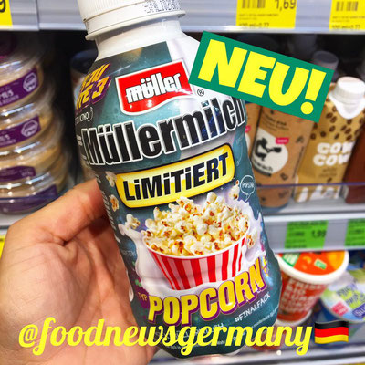 Müllermilch Popcorn