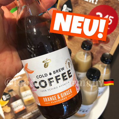 Tchibo Cold Brew Coffee Orange & Ginger