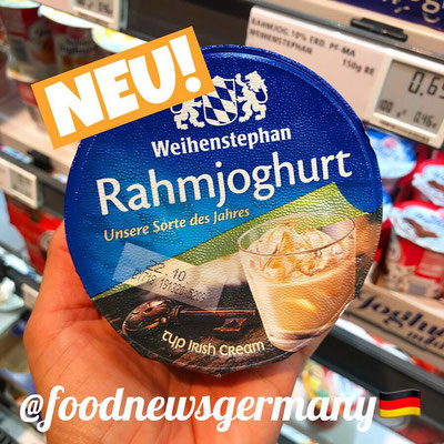 Weihenstephan Rahmjoghurt Typ Irish Cream