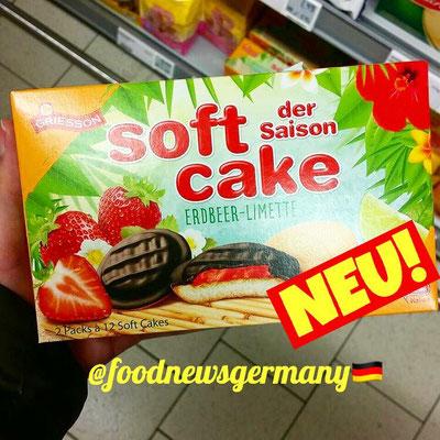 Griesson Soft Cake Erdbeer-Limette