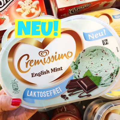 Langnese Cremissimo English Mint Laktosefrei