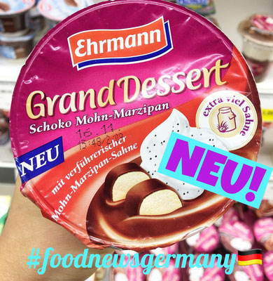 Ehrmann Grand Dessert Schoko Mohn Marzipan
