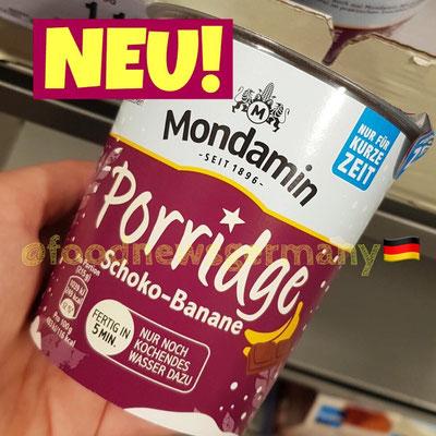Mondamin Porridge Schoko-Banane