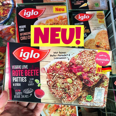 Iglo Veggie Love Rote Beete Patties