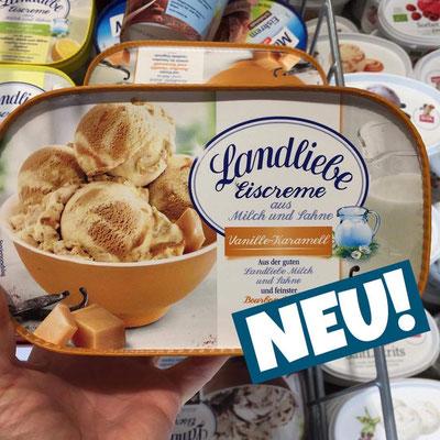 Landliebe Eiscreme Vanille-Karamell
