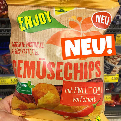 Kühne Gemüsechips sweet Chili