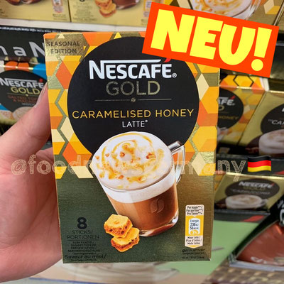 Nescafe Gold Caramelised Honey Latte