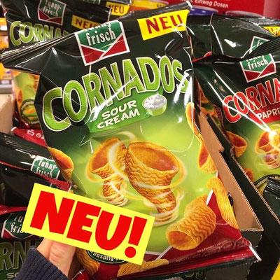 Funny Frisch Cornados Sour Cream