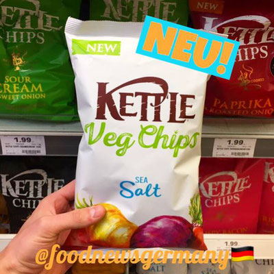 Kettle Veg Chips Sea Salt