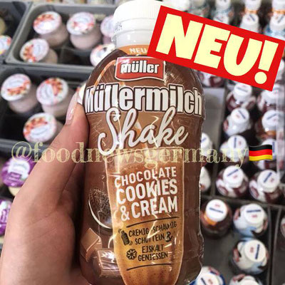 Müllermilch Shake Cookies & Cream