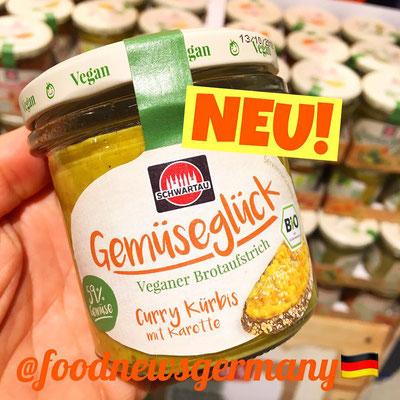 Schwartau Gemüseglück Curry Kürbis