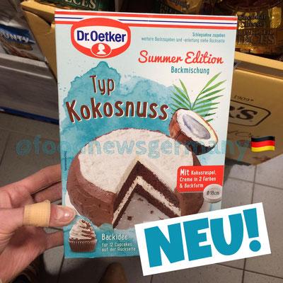 Dr. Oetker Backmischung Sommer Edition Kokosnuss