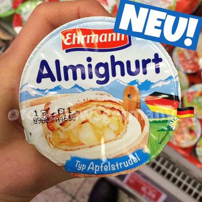Ehrmann Almighurt Typ Apfelstrudel