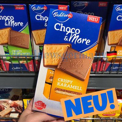 Bahlsen Choco & More Crispy Karamell