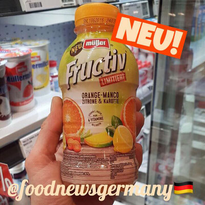 Müller Fructiv Orange-Mango