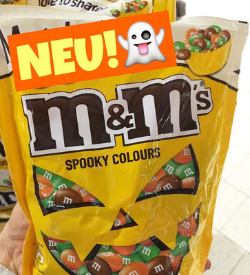 m&m's m&m mundms Spooky colours Halloween