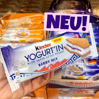 Kinder Yogurt'in Berry-Mix