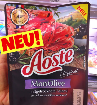 Aoste Salami Mon Olive