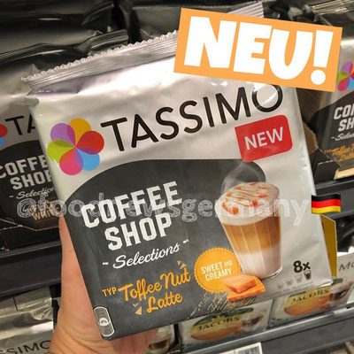 Tassimo Coffee Shop Toffee Nut Latte
