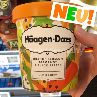 Häagen-Dazs Orange Blossom Bergamotte & Black Pepper