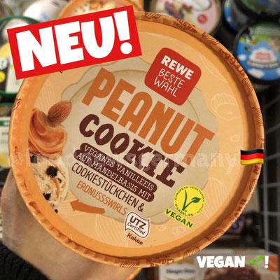 Rewe Beste Wahl Peanut Cookie Vegan