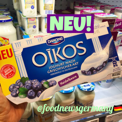 Danone Oikos Griechischer Joghurt Heidelbeere
