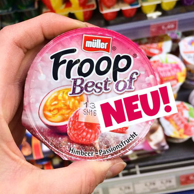 Müller Froop Himbeer-Passionsfrucht