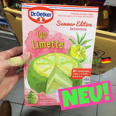 Dr. Oetker Backmischung Sommer Edition Limette