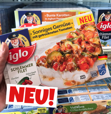 Iglo Schlemmerfilet Sonniges Gemüse
