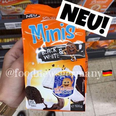 Brandt Zwieback Minis Black & White