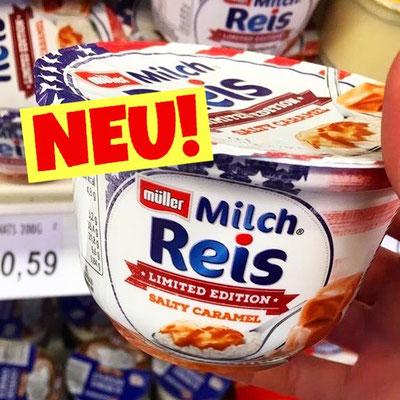 Müller Milchreis Salty Caramel