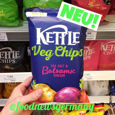 Kettle Veg Chips Sea Salt & Balsamico
