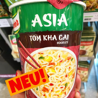 Knorr Asia Snack Becher Tom Kha Gai