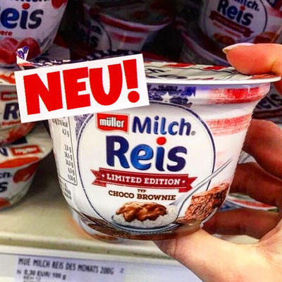Müller Milchreis Chico Brownie
