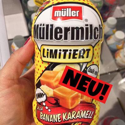 Müllermilch Banane Karamell