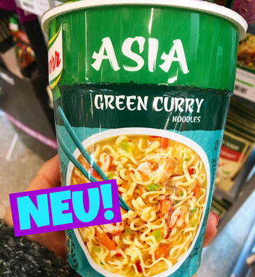 Knorr Asia Snack Becher Green Curry