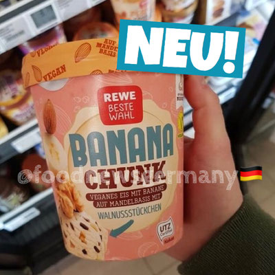 Rewe Beste Wahl Banana Chunk Vegan