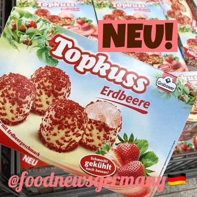 Topkuss Erdbeere