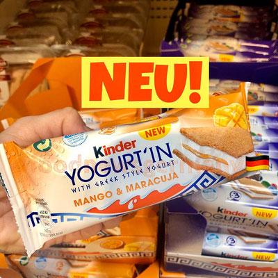 Kinder Yogurt'in Mango & Maracuja