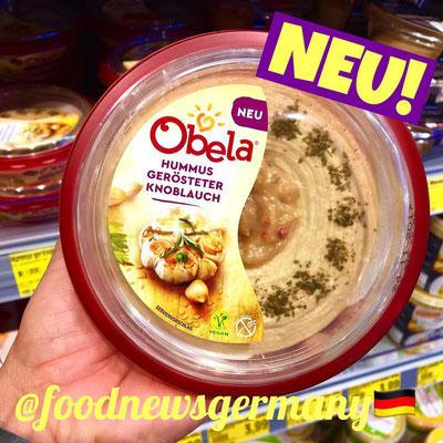 Obela Hummus mit gerösteten Knoblauch