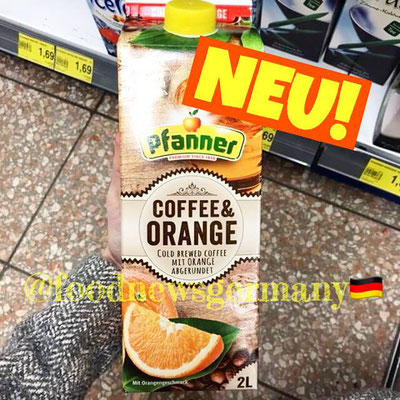 Pfanner Coffee & Orange Cold Brew Coffee